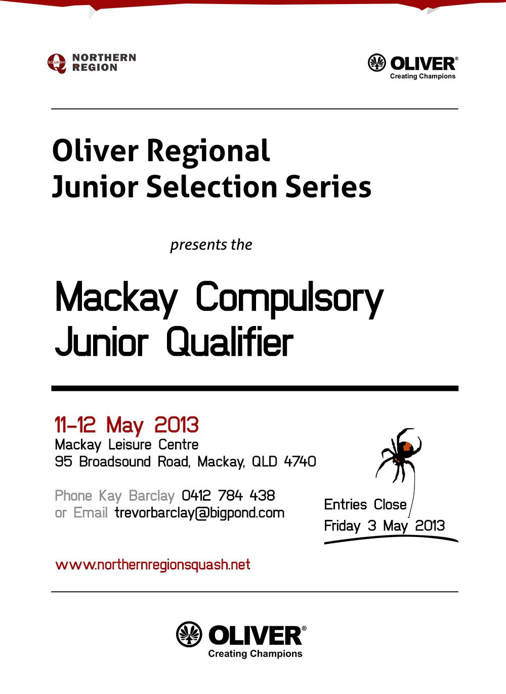 2013 Mackay compulsory poster