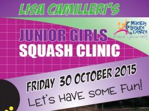 Girls Squash Clinic